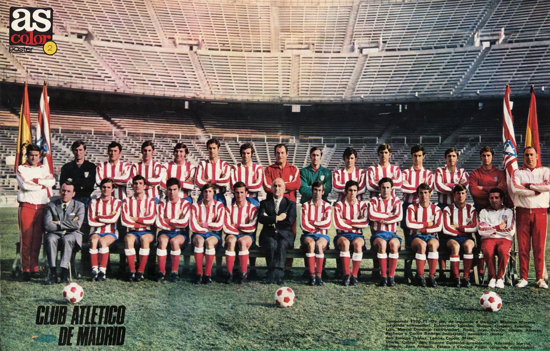 Resultado de imagem para atletico madrid 1970