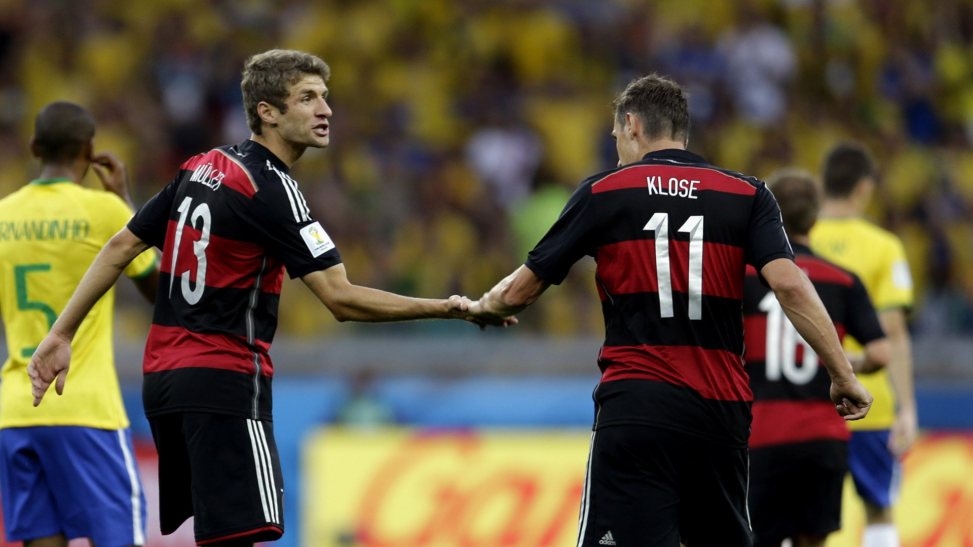Miroslav Klose and Thomas Muller – Conjoined Twins